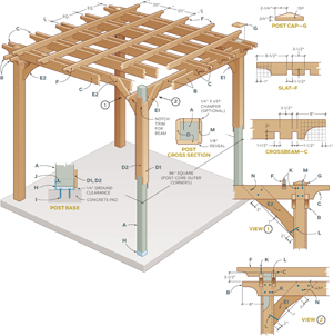 PDF Plans Pergola Building Designs Download double loft ...